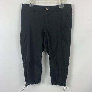 Magellan Medium Capri Pants Black Hiking